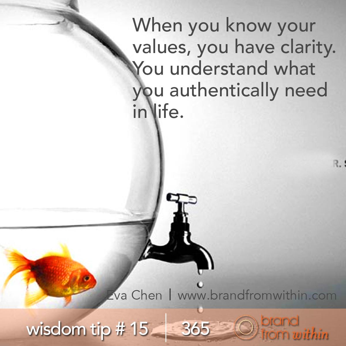 DAY 15 WISDOM TIP