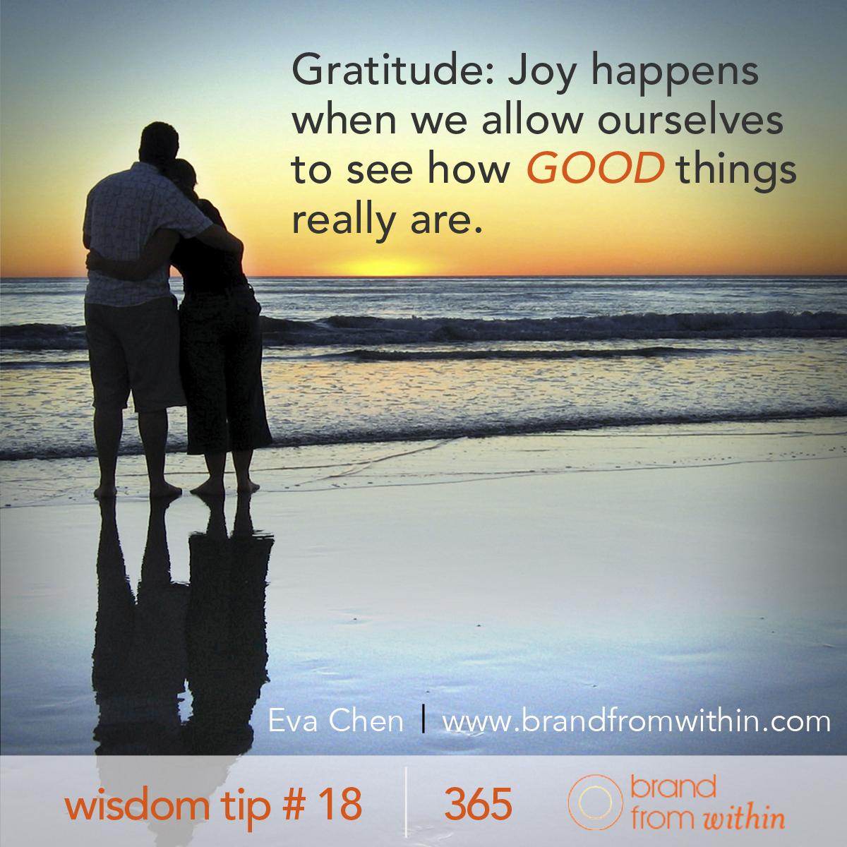 DAY 18 WISDOM TIP