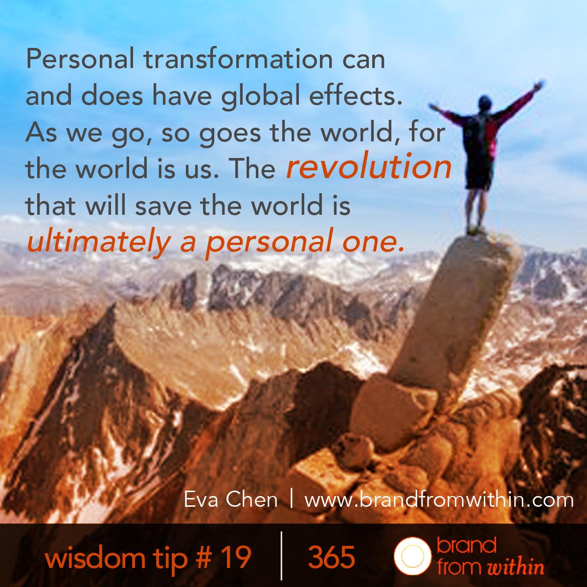 DAY 19 WISDOM TIP